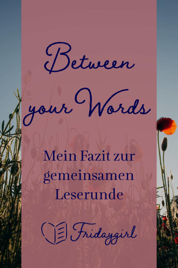 Leserunde Between your Words