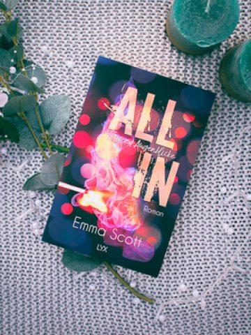 Buchcover von Emma Scott All in - Tausend Augenblicke