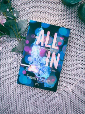 Buchcover Emma Scott All In - Zwei Versprechen