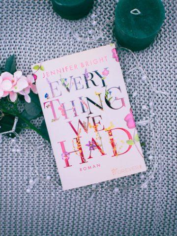 Buchcover von Everything We Had von Jennifer Bright