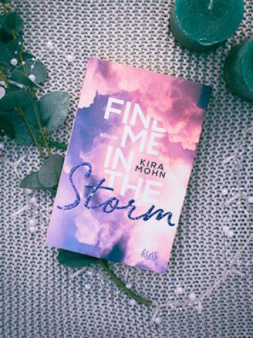 Buchcover zu Find me in the Storm von Kira Mohn