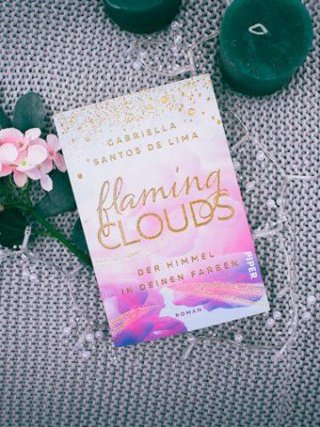 Buchcover von Flaming Clouds - Der Himmel in deinen Farben