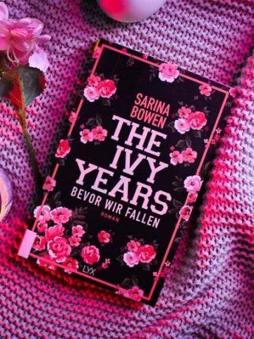 Buchcover von Sarina Bowen The Ivy Years bevor wir fallen