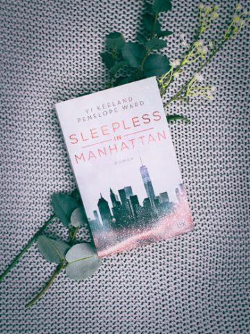 Buchcover zu Sleepless in Manhattan