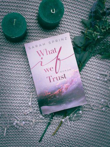 Buchcover von What if we Trust von Sarah Sprinz